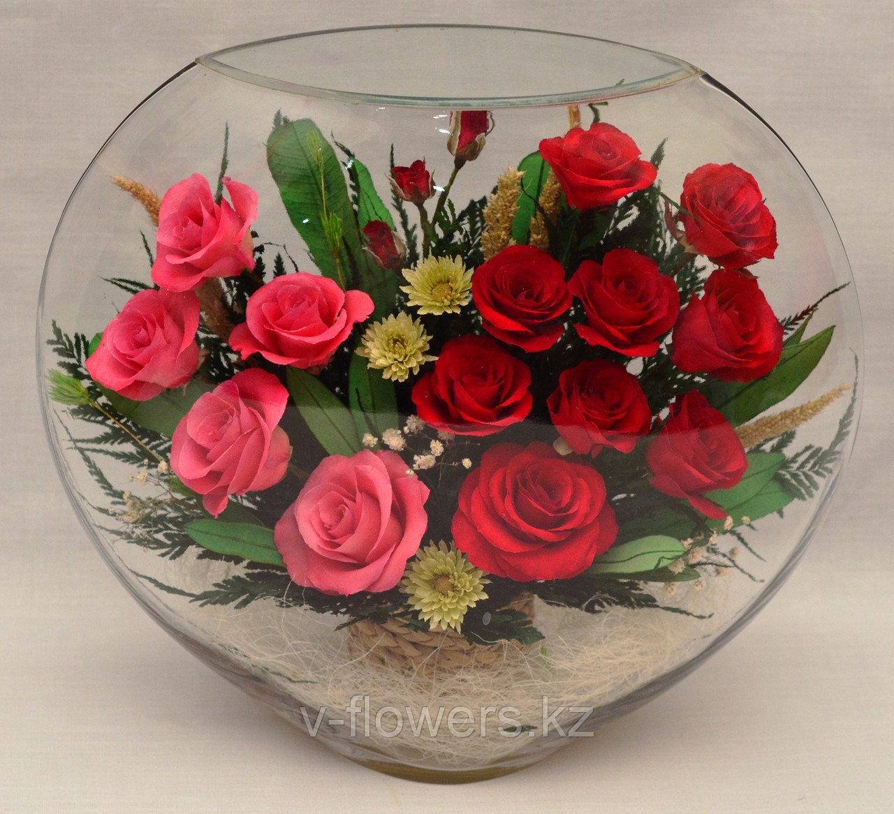 Вечные живые цветы ELRp-02