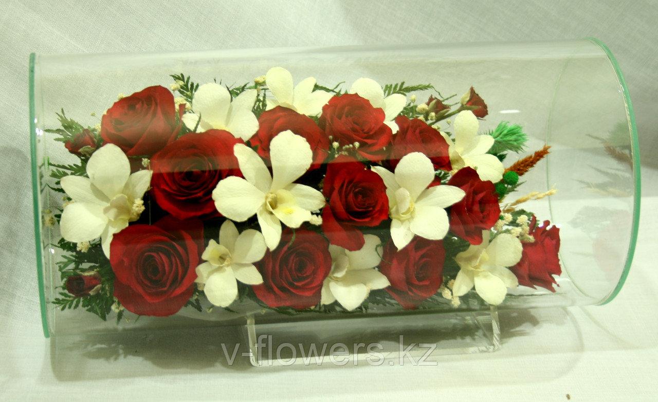 Вечные живые цветы TJM2