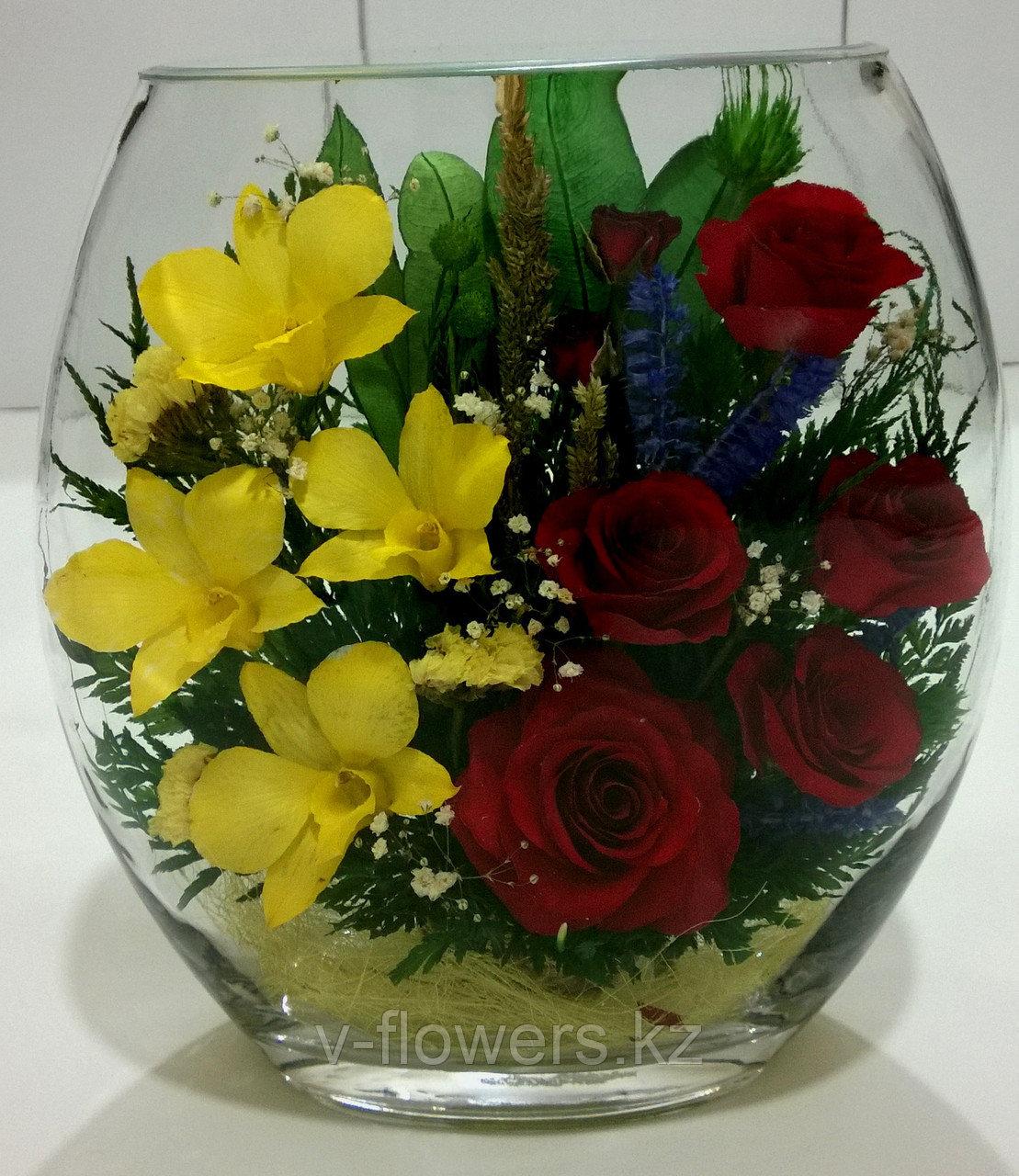 Вечные живые цветы ERM-05