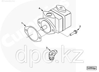 Болт вспомогательного насоса (Мx10x1.5x35) Cummins ISLe 3089016