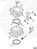 Кольцо уплотнительное ТНВД Cummins ISLe 3899283 3072833, фото 2