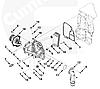 Корпус маслоохладителя (теплообменника) ISF 3.8 5262811 5267094 5257961, фото 8