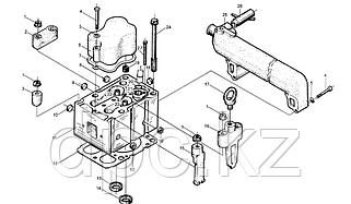 Головка блока цилиндров WD615