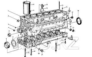 Блок цилиндров WD615