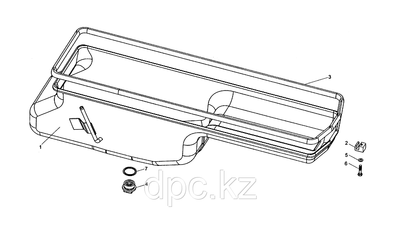 Шайба уплотнительная пробки поддона WD615 Евро 3 VG2600150106
