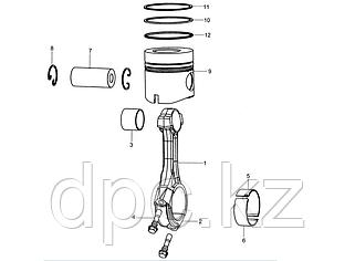 Поршневая группа двигатель WD615 Евро 3