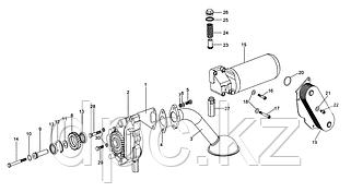 Масляный насос и фильтр двигатель WD615 Евро 3