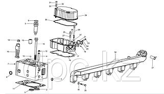 Головка блока цилиндра двигатель WD615 Евро 3