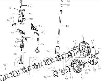 Распредвал и механизм распределения WD615 Евро-3