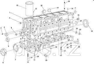 Блок Цилиндров Двигатель WP10