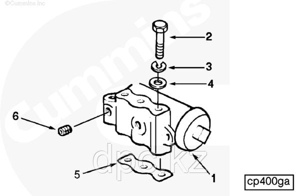 Прокладка регулятора компрессора воздушного Cummins KTA-19 185848 145717