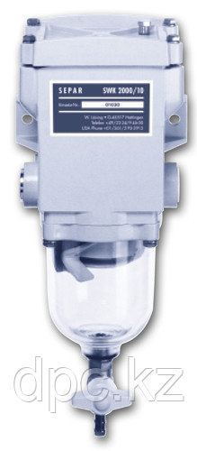 Фильтр топливный (водоотделитель) SEPAR СЕПАР – 2000 с подогревателем