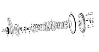 Вал коленчатый Weichai WD615 Евро-3 61560020024