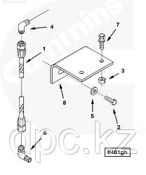 Шланг перепускной топливного фильтра Cummins KTA-19 3634310