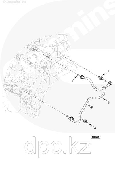 Регулятор давления топлива Cummins ISB ISD ISC ISL 4896329