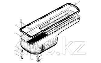 Кольцо уплотнительное пробки поддона Weichai WD615  612600150106
