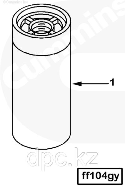 Фильтр топливный Fleetguard FF2200 Cummins ISX QSX 4920586 4088272 3101546