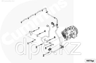 Трубка топливная Cummins двигателя ISF2.8  5272517 Газель-Бизнес