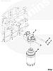 Головка топливного фильтра Cummins ISF 3.8 FH22037 5262312 5257998 5257996, фото 6