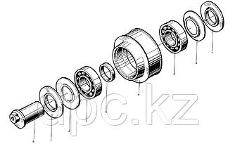 Защитное кольцо натяжного ролика Weichai WD615  61560060074
