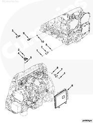 Модуль управления двигателем Cummins ISF3.8 5293527 5271191 5293526