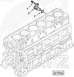 Форсунка охлаждения поршня двигателя Cummins N14 4058947 3082522 3068526