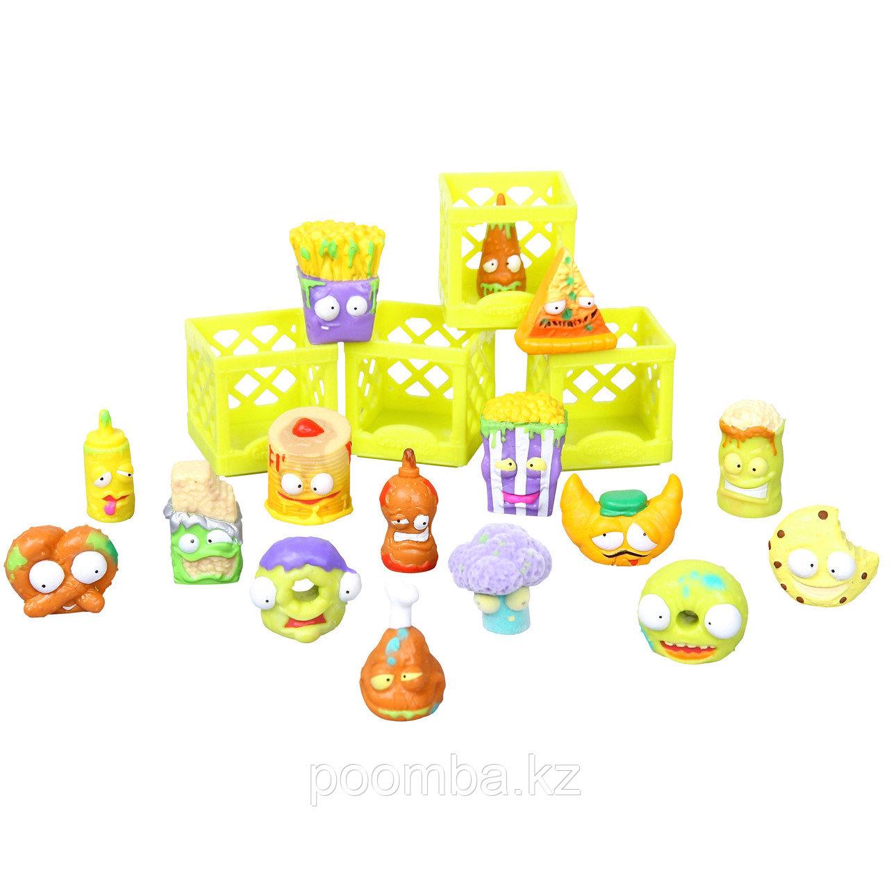Игровой набор Grossery Gang - Chunky Crunch, 16 фигурок