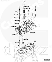 Тарелка клапана Cummins B3.3 C6204414510 4982897