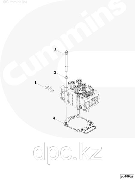 Болт головки блока цилиндров Cummins KTA-19 3032633 3007238