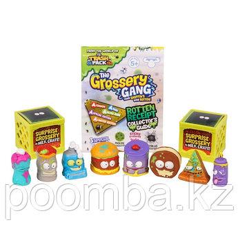 Grossery Gang  10 фигурок, упаковка в виде пакета чипсов