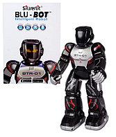 Игрушечный Программируемый робот BLU-BOT на Bluetooth-управлении (на аккум., свет, звук), фото 1