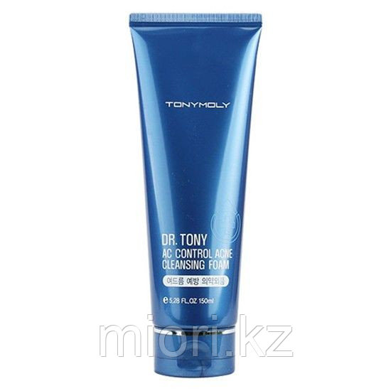 "Пенка для умывания против акне ""Tonymoly Dr.Tony AC Control Acne Cleansing Foam"",150мл"