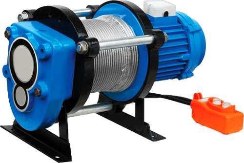 Лебёдка электрическая KCD 500кг/70м (220В)