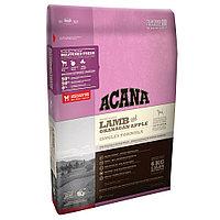 Acana Singles Grass-Fed Lamb ягненок с яблоком, сухой корм для собак всех пород с чувствительным пищеварением