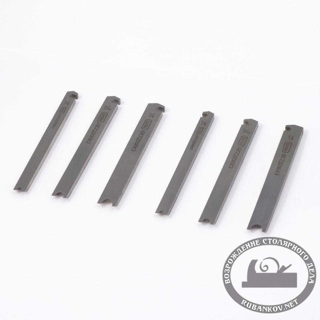 Ножи для валиков к рубанкам Veritas Small Plow Plane PM-V11