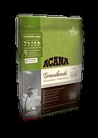 Сухой беззерновой корм для щенков и собак всех пород и возрастов Acana Regionals Grasslands Dog с ягненком