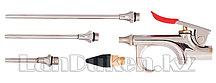 Набор продувочный пистолет пневмат. в комплекте с насадками 4 шт. MATRIX 57338 (002)