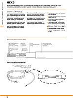 Секция нагревательная кабельная 20НСКБ2-0690-040, 1380Вт