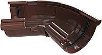 Угол желоба регулируемый 120-165, универсальный, Альта-Профиль (Россия), коричневый, фото 1
