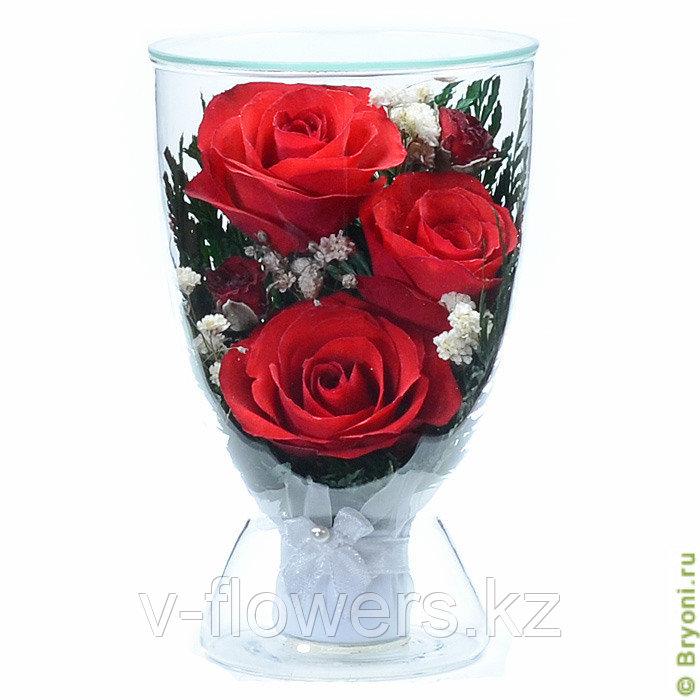 Цветы в стекле CuLR