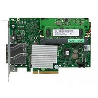405-10807 Контроллер SAS RAID Dell PERC 6/E 512Mb BBU Ext-2xSFF8470 8xSAS/SATA RAID60 U600 PCI-E8x