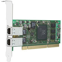 QLA4052C-CK Qlogic Dual-port 1GbE iSCSI / Network-to-64-bit, 133-MHz PCI-X adapter, copper