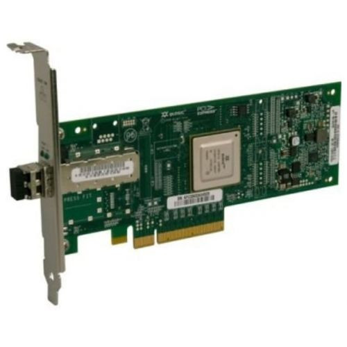 QLE8140-SR-CK Qlogic Single-port 10GbE-to-PCI Express Converged Network Adapter with SFP+ SR optical modules supporting distances up to 300m