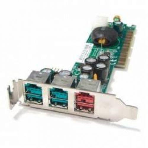 879072 Контроллер RAID SATA Intel SRCS28X Intel IOP331-250Mhz 128Mb 8xSATAII RAID50 SATAII-300 PCI-X