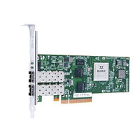 QLE3242-SR-CK Qlogic Dual-port 10GbE Ethernet to PCIe Intelligent Ethernet Adapter with SR optical transceivers