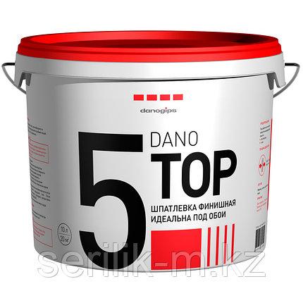 Финишная шпатлевка DANO TOP 5 (10л), фото 2