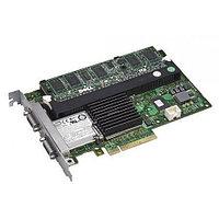 FY374 Контроллер SAS RAID Dell PERC 6/E 512Mb BBU Ext-2xSFF8470 8xSAS/SATA RAID60 U600 PCI-E8x