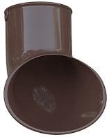 Слив трубы водостока, диаметр 95 мм, Альта-Профиль (Россия) коричневый, фото 1
