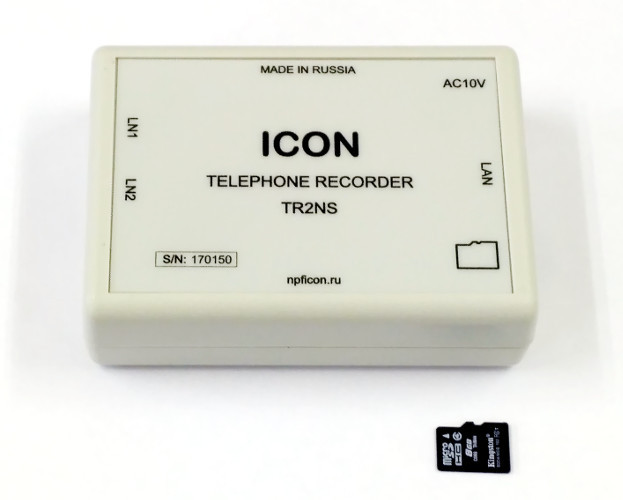 ICON TR2NS Устройство записи телефонных разговоров