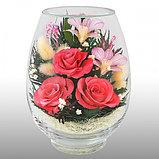 Живые цветы в стекле VSM, фото 2